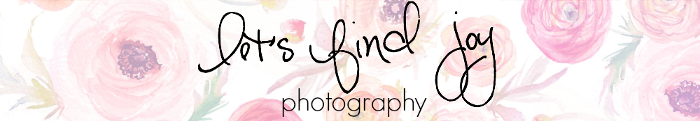 Let's Find Joy Photography logo